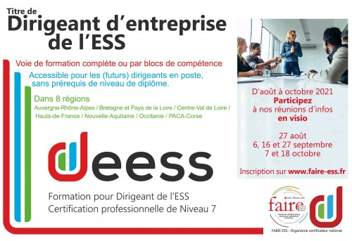 Formation DEESS Ifocas